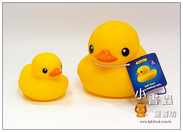 內頁放大:黃色小鴨 (1大1小) TOLO 正版授權生產(Rubber Duck)