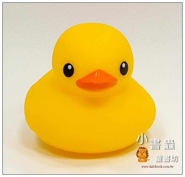 內頁放大:黃色小鴨 (單隻) (小):TOLO 正版授權生產(Rubber Duck)洗澡玩具