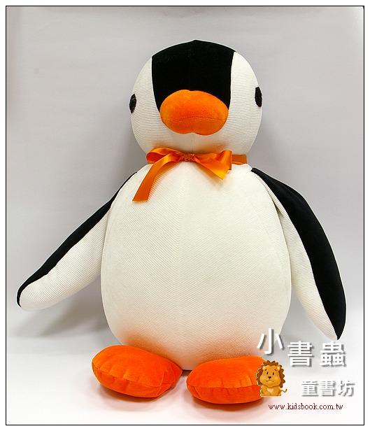 內頁放大:手工綿柔大布偶:可愛大企鵝 (台灣製造)