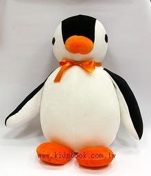 手工綿柔大布偶:可愛大企鵝 (台灣製造)