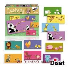 西班牙寶寶拼圖–媽咪寶寶配對組(2片共10組)(特價)