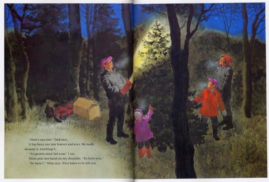 內頁放大:NIGHT TREE(我們的樹)(平裝本)