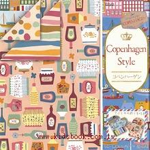 日本色紙:雙面花紙─哥本哈根風(4色調32枚)現貨數量:2