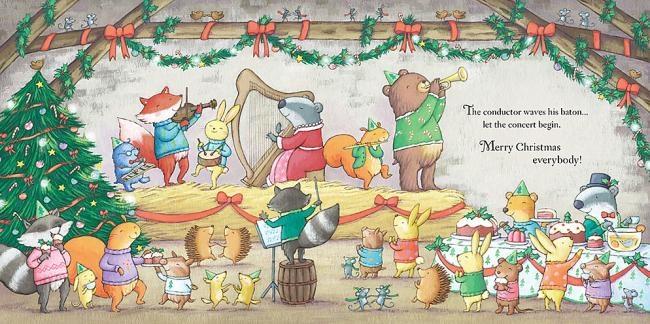 內頁放大:LITTLE CHILDRENS CHRISTMAS MUSIC BOOK(音樂音效書)