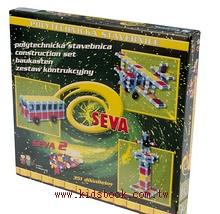 捷克─百變積木seva2:351片