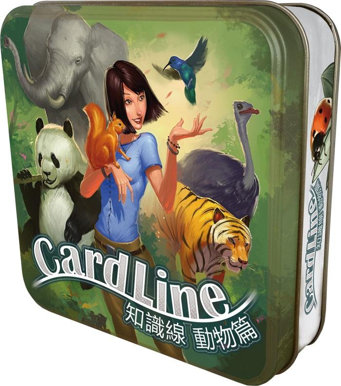 內頁放大:Cardline Animals 知識線動物篇 (中文版)桌上遊戲