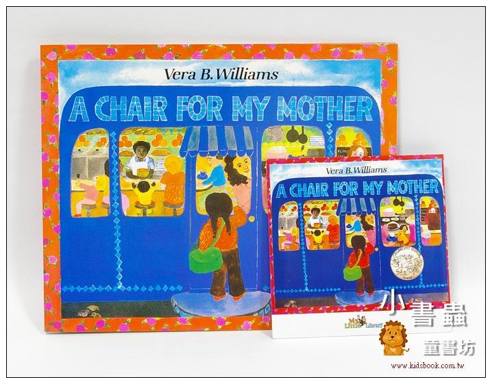 內頁放大:A CHAIR FOR MY MOTHER(媽媽的紅沙發)平裝書+CD