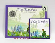 Miss Rumphius(花婆婆)平裝書+CD
