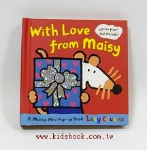 小鼠波波翻拉書(迷你本):With Love from Maisy