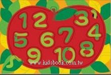 蘋果數一數(20.17.11pcs):階梯式日本幼兒拼圖