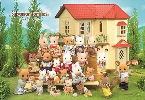 內頁放大:30pcs可愛的森林家族:日本幼兒紙板拼圖