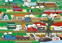 63pcs湯瑪士小火車,出發!:日本幼兒紙板拼圖