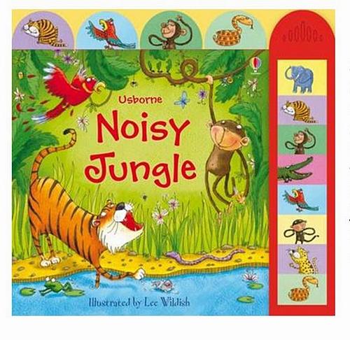 內頁放大:Noisy Jungle(動物音效書)79折