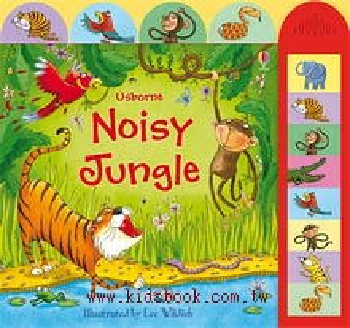 Noisy Jungle(動物音效書)79折