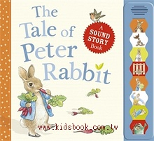 THE TALE OF PETER RABBIT(彼得兔音效書)79折