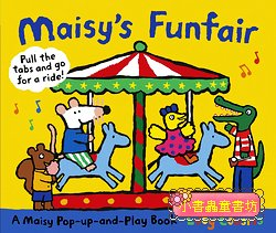 小鼠波波拉拉書+立體書:MAISY FUNFAIR:A Maisy Pop-up-and-Play Book
