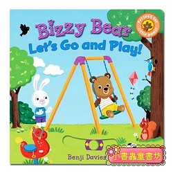 推、拉、轉硬頁操作書:BIZZY BEAR Let,s Go and Play