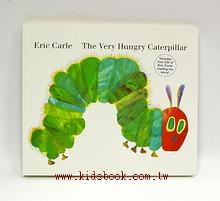 艾瑞.卡爾(硬頁書+CD):THE VERY HUNGRY CATERPILLAR(好餓的毛毛蟲) (85折)