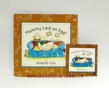 Mummy Laid an Egg!(平裝書+CD)(媽媽生了一個蛋)