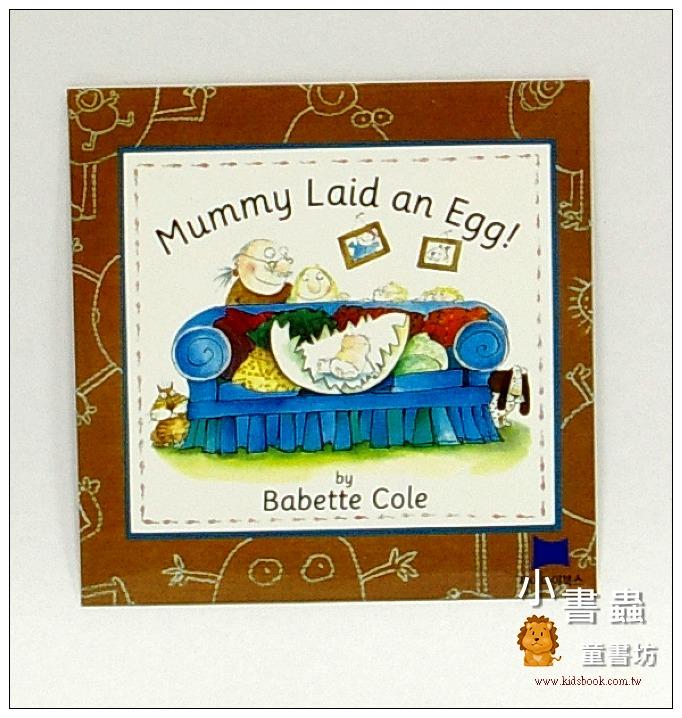 內頁放大:Mummy Laid an Egg!(CD)(媽媽生了一個蛋)