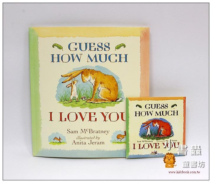 內頁放大:GUESS HOW MUCH I LOVE YOU(猜猜我有多愛你)平裝書+CD