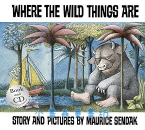 Where The Wild Things Are (野獸國)平裝書+CD