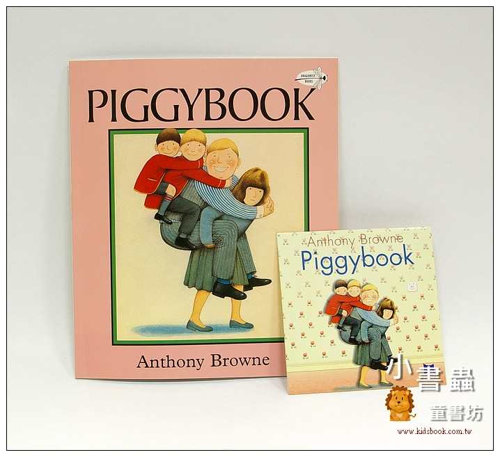 內頁放大:PIGGYBOOK (朱家故事) 平裝書+CD