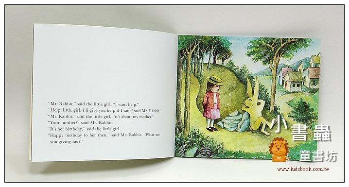 內頁放大:MR. RABBIT AND THE LOVELY PRESENT (兔子先生, 幫幫忙好嗎) /書+CD