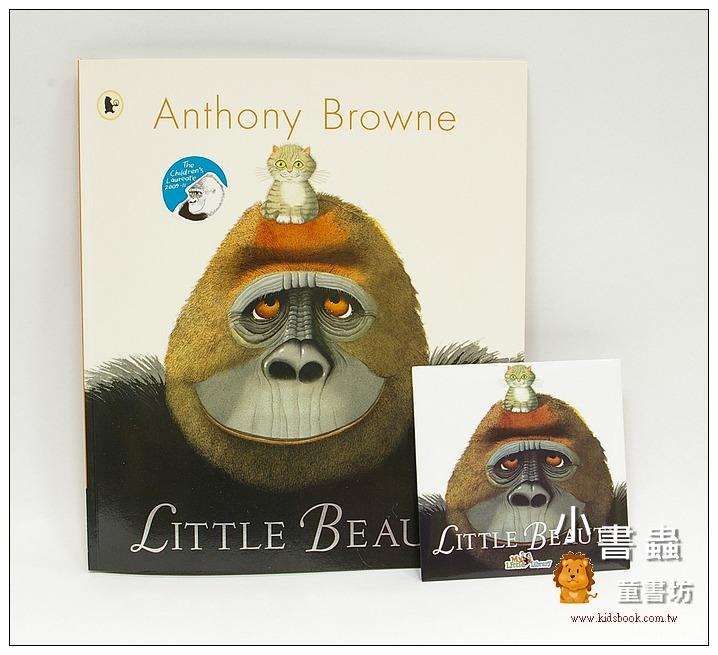 內頁放大:LITTLE BEAUTY (大猩猩和小星星) 平裝書+CD