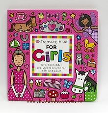 找一找遊戲書:Treasure Hunt For Girls