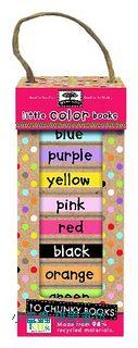 寶寶小小硬頁書:Little color books(顏色篇)