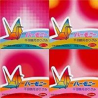 千羽鶴漸層紙40色800枚(7.5cm)