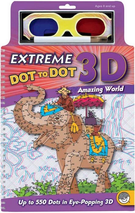 內頁放大:3D 數字連連看 世界奇觀(現貨:1)