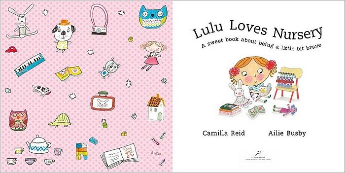 內頁放大:Lulu Loves Nursery(平裝繪本)79折