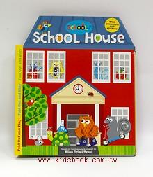 School House角色扮演立體遊戲書