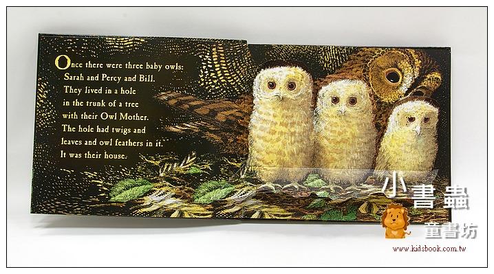 內頁放大:Owl Babies: A Pop-Up Book(小貓頭鷹立體書)
