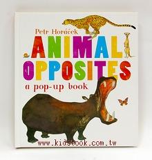 Animal Opposites 動物立體書