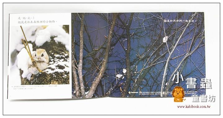 內頁放大:飛天鼯鼠 (套書解套):*大科學 (導讀手冊+導讀CD)<親近植物繪本>