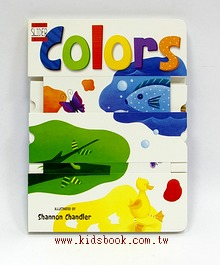 A SILLY BOOK: COLORS(上、下推推書)