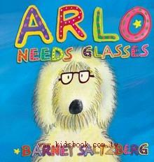 Arlo Needs Glasses 阿洛近視了!(精裝操作書)舊版