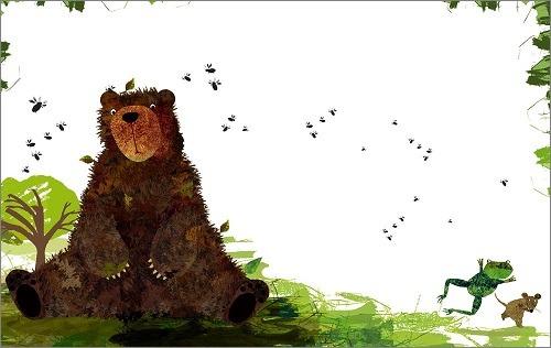 內頁放大:不洗澡的臭臭熊 (絕版書 )