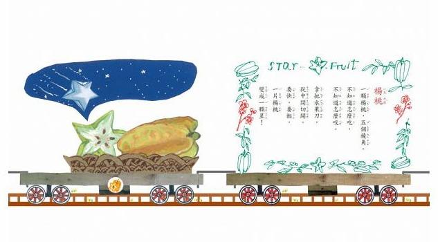 內頁放大:嘟嘟~水果列車出發! (79折)(唸唸、唱唱書展 )