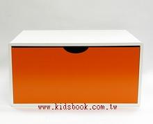 抽屜收納櫃─橙(單抽)(不適用貨到收款)現貨數量: 1
