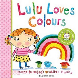 Lulu Loves Colours 硬頁翻翻書(79折)