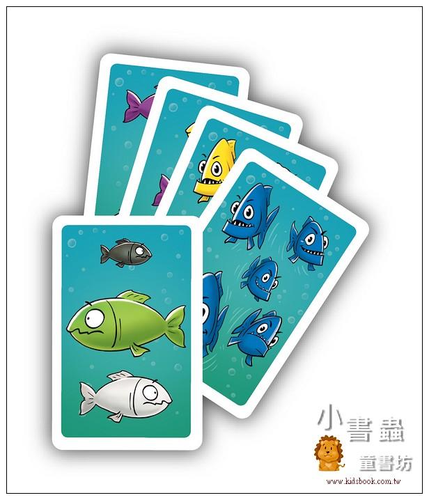 內頁放大:紙牌桌遊:大魚吃小魚(79折)