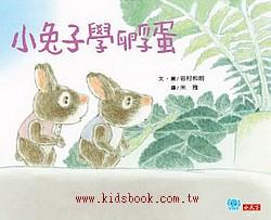 小兔子學孵蛋