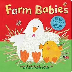 Farm Babies(寶寶拼圖書)