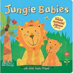 Jungle Babies(寶寶拼圖書)