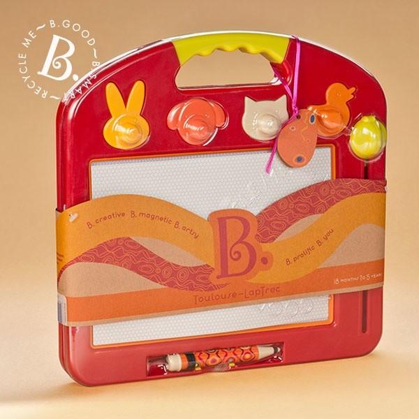 內頁放大:【B.Toys】塗黑黑磁繪板(79折)