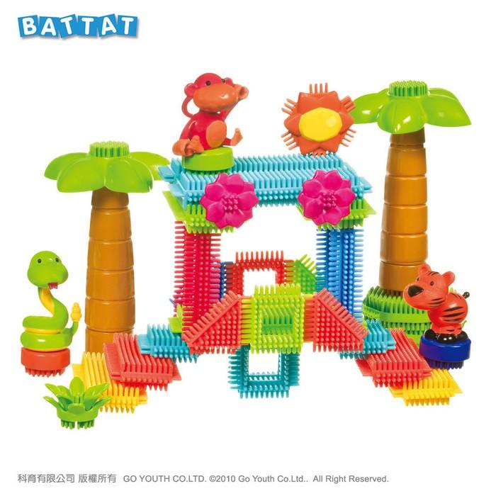內頁放大:【B.Toys】鬃毛積木_叢林冒險系列(79折)